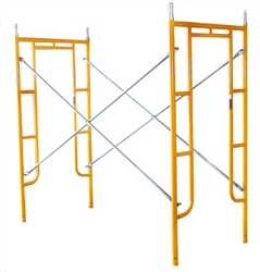"3' x 6'4"" Walk-Thru Scaffolding Frame Package"