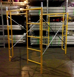 "5' x 6'4"" Ladder Walk-Thru Frame Package"