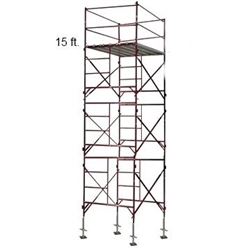 15 Foot Scaffold Tower