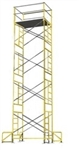 20 Foot Stationary Scaffolding Tower with outriggers