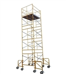 20 foot Rolling Scaffold Drywall Tower