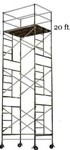 20 Foot Rolling Scaffold Tower