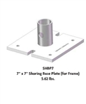 "7"" X 7"" Shoring Base Plate Set of 4"