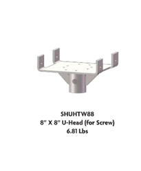 "8"" X 8"" Shoring U-Head Set of 4"