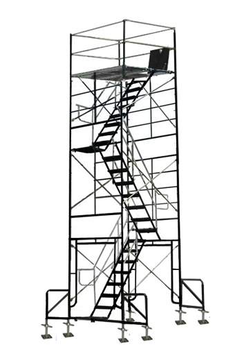 Good 20 Foot Scaffold Stair Tower Outriggers