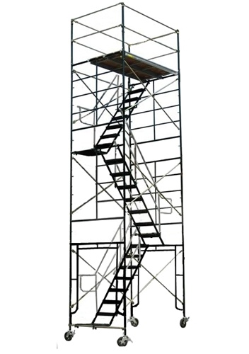 Exceptional 20 Foot Rolling Scaffold Stair Tower