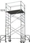 10 Foot Rolling Scaffolding Tower