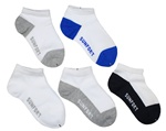 Sunfort - 5 pairs of cotton ankle socks for boys
