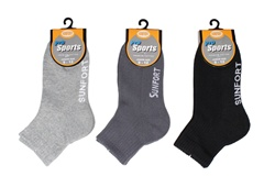 Sunfort - Cushioned three quarter sport socks for juniors