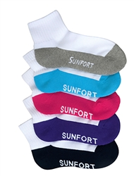 Sunfort - 2-tone three quarter sport socks