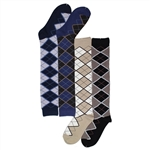 Sunfort - Argyle Knee highs