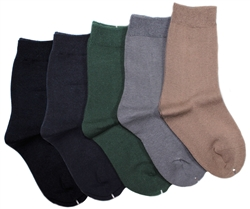Sunfort - Plain socks for women