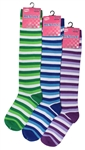Sunfort - Striped knee highs for kids