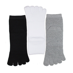 Sunfort - Plain toe socks for women