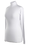Coates Golf Long Sleeve Cuff Neck - White