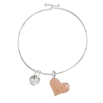 Dune Jewelry Beach Bangle - Heart