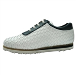 Cielo Mare Ladies Woven Golf Shoe