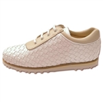 Cielo Crema Ladies Woven Golf Shoe