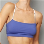 Denise Cronwall Sport Bra Top - Scotia Blue