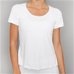 Denise Cronwall Cap Sleeve Top - White