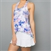 Denise Cronwall Tennis Dress - Mystical White Floral