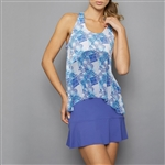 Denise Cronwall Tennis Dress - Scotia Print/Blue