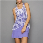 Denise Cronwall Tennis Dress - Serenity Print/Lilac