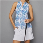 Denise Cronwall Golf Dress - Scotia Print/White