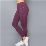 Denise Cronwall Inverted Pocket Mulberry Legging
