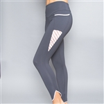 Denise Cronwall Inverted Pocket Edge Legging Sienna Slate