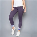 Denise Cronwall Mystical Violet Inverted Legging