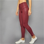 Denise Cronwall Zipper Legging - Rhapsody Plum