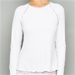 Denise Cronwall Sienna Long Sleeve Layer Top