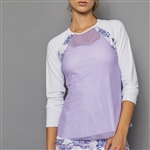 Denise Cronwall Sheer Body Top - Serenity Breeze