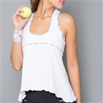 Denise Cronwall Edge Layer Fitness Top