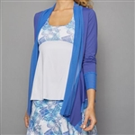 Denise Cronwall Cardigan - Royal Blue