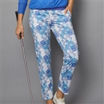 "Denise Cronwall 27"" Cropped Pant - Scotia Print"