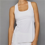 Denise Cronwall Racerback Tank - Pure White