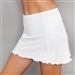 Denise Cronwall White Pocket Tennis Skort