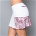 Denise Cronwall Pocket Tennis Skort - White/Mulberry