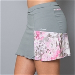 Denise Cronwall Wyn Grey Pocket Tennis Skort