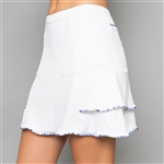 Denise Cronwall Nordica White Golf Skort