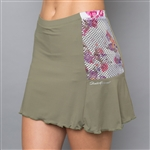 Denise Cronwall Gabby Skort - Army of Lovers, Green