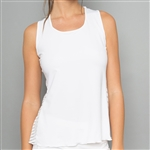 Denise Cronwall Classic White Tank