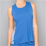 Denise Cronwall Nordica Blue Tank