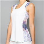 Denise Cronwall Tank Top - Mystical White