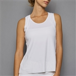 Denise Cronwall Tank Top - Pure White