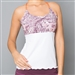 Denise Cronwall Mulberry Spaghetti Strap Top