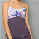 Denise Cronwall Spaghetti Strap Top - Mystical, Violet