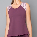 Denise Cronwall Cap Sleeve Top